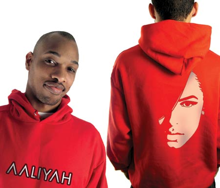 Aaliyah - Logo Face Red - Sweatshirts