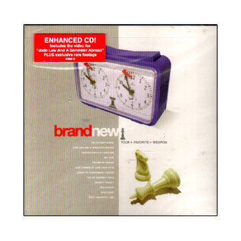 Brand New - Your Favorite Weapon - CDs
