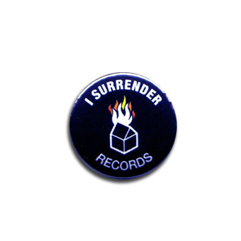 I Surrender Records - Burning House Pin - Accessories