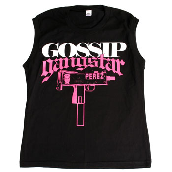 Perez Hilton - Gossip Gangstar Womens Sleevless T-Shirt - Women's