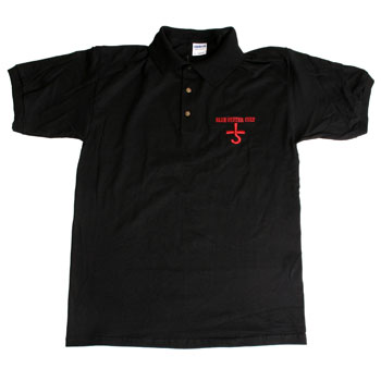 Blue Oyster Cult - Black Polo - Men's