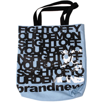 Brand New - Fight Off Your Demons Custom Tote Bag - Accessories
