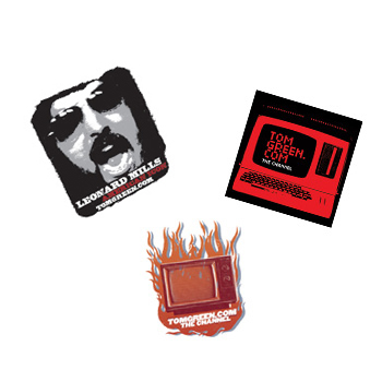 Tom Green - Three Sticker - Accessories