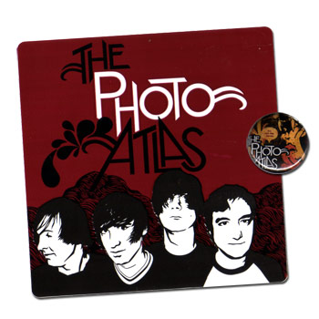 The Photo Atlas - Pin/Sticker Pack - Accessories