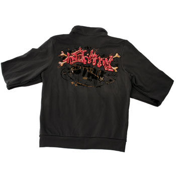 Bleeding Star Clothing Co. - Underground 2 Remix Zip Up Track Jacket - Sweatshirts