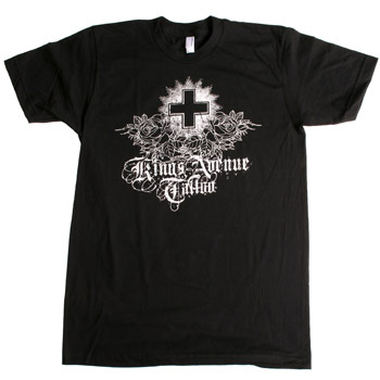 Tattoshirt on Kings Ave Tattoo   King S Ave Tattoo   Crossed Roses   T Shirts