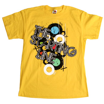 The Starting Line - Gears - T-shirts