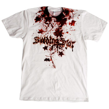 Bleeding Star Clothing Co. - Splatter Star 2 Fine Jersey Slim Fit - Sale Items