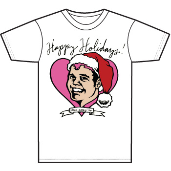 Perez Hilton - Happy Holidays Women's Fine Jersey T-Shirt - Sale Items