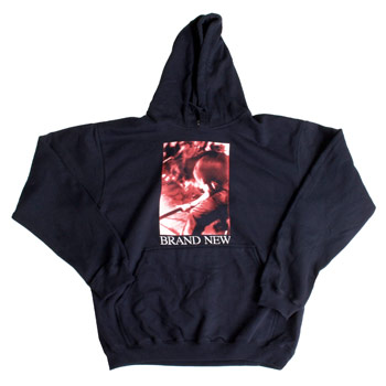 Brand New - Vin Ghost Red Tint on Navy Pullover - Sweatshirts