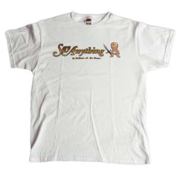 Say Anything - Baby on White - Sale Items