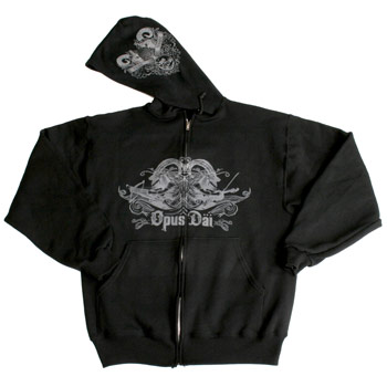 Opus Dai - Tierra Tragame Black Violins Zip Up - Sweatshirts