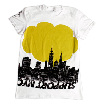 Support Shirts - Support NYC Fine Jersey Slim Fit - T-shirts