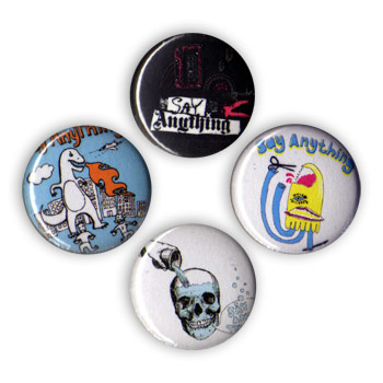 Say Anything - DinoPouringBrainMixtape Pin Pack - Accessories