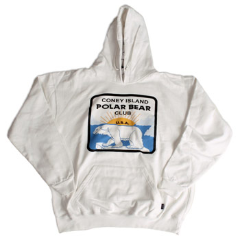 Coney Island Polar Bear Club - White Logo Pullover - Sweatshirts