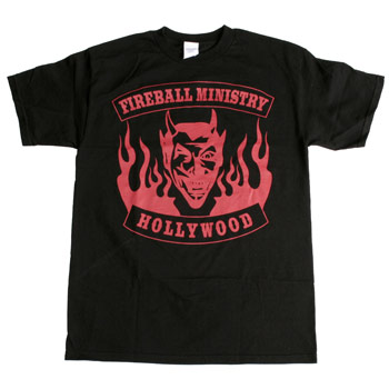 Fireball Ministry - Devil's Head - T-shirts