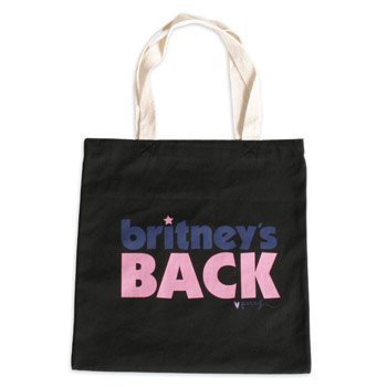 Perez Hilton - Britneys Back Black Totebag - Accessories