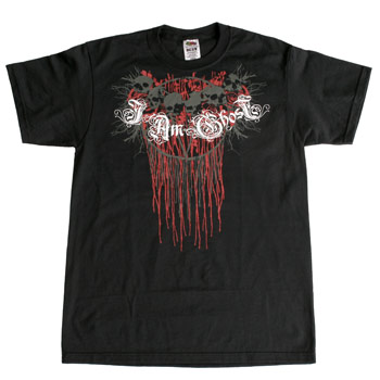 I Am Ghost - Bleeding Skulls - T-shirts