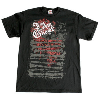 I Am Ghost - Bone Yard - T-shirts