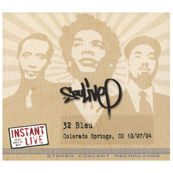 Soulive - Instant Live 32 Bleu Colorado Springs CO 10.07.04 - CDs