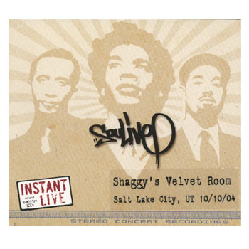 Soulive - Instant Live Shaggys Velvet Room Salt Lake City UT 10.10.04 - CDs
