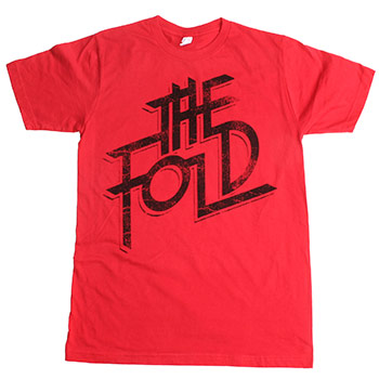The Fold - Rocker on Red Fine Jersey Slim Fit - T-shirts
