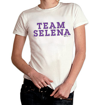 Perez Hilton - Team Selena Women's Fine Jersey Slim Fit - Women's