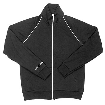 Brand New - Triple Skeleton on Black American Apparel Track Jacket - Sweatshirts