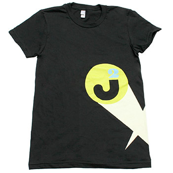 Just Jared - Spotlight on Black American Apparel Fine Jersey Slim Fit T-Shirt - Women's
