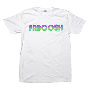 Perez Hilton - Faboosh Bright on White Fine Jersey Slim Fit - T-shirts
