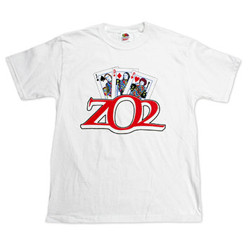 ZO2 - Playing Cards on White - T-shirts