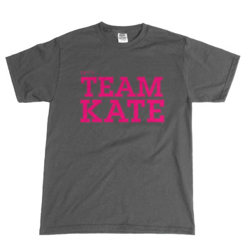 Perez Hilton - Team K8 on Charcoal Unisex Slim Fit Fine Jersey - T-shirts