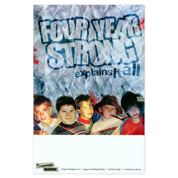 Four Year Strong - Explains it All - Posters
