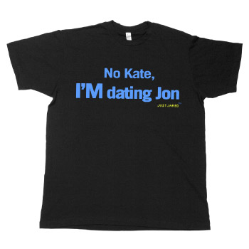 Just Jared - I'M Dating Jon Fine Jersey Slim Fit - T-shirts