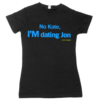 Just Jared - I'M Dating Jon Fine Jersey Slim Fit - Women's