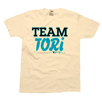 Perez Hilton - Team Tori Unisex Slim Fit Fine Jersey - T-shirts