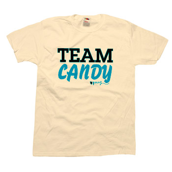 Perez Hilton - Team Candy Unisex Slim Fit Fine Jersey - T-shirts