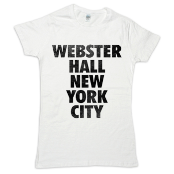 Webster Hall - Women's Slim-Fit Webster Hall Classic Tee - Women's
