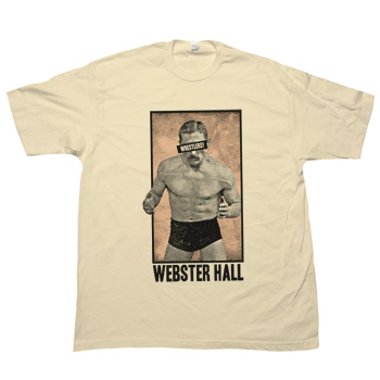 Webster Hall - Wrestlers! WH Tee (Special Edition!) - T-shirts