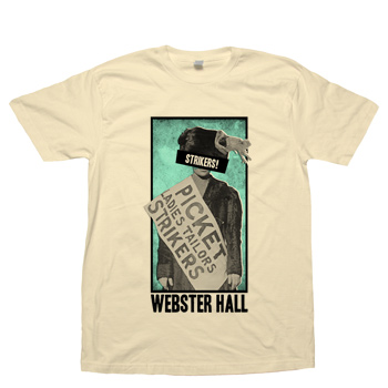 Webster Hall - Strikers! WH Tee (Special Edition!) - T-shirts