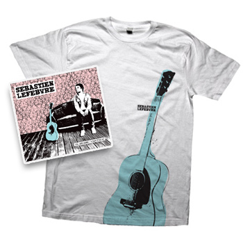 Sebastien Lefebvre - You Are Here Album and Limited Edition T-Shirt  - CDs