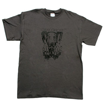 Gray Ghost - Skull - T-shirts