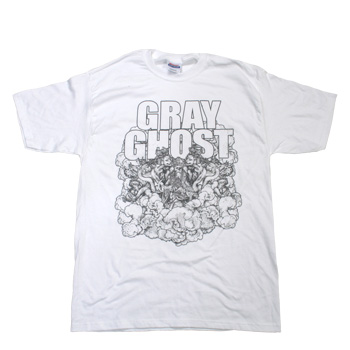 Gray Ghost - White Shirt - T-shirts