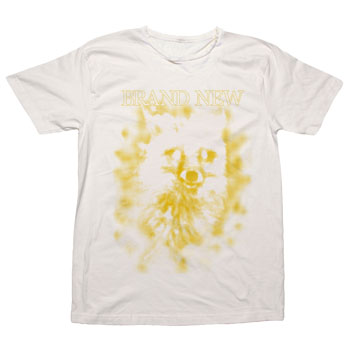 Brand New - Spray Fox on Vintage White Ultra Fine Jersey Slim Fit Destroyed - T-shirts