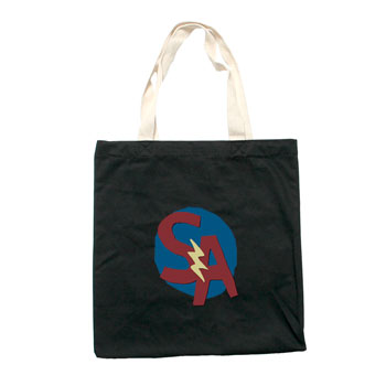 Say Anything - Shield on Black Tote Bag - Accessories