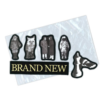Brand New - Album Collection Die Cut 6 PC Iron On - Accessories