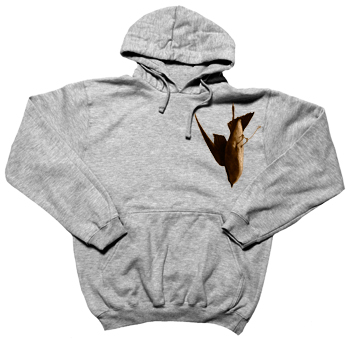 Brand New - Diving Bird on Heather Grey Pullover - Sweatshirts