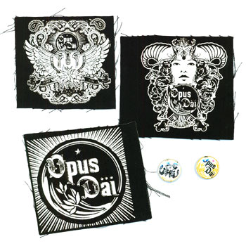 Opus Dai - Pin and Patch Set #1 - Accessories