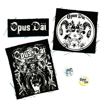 Opus Dai - Pin and Patch Set #2 - Accessories