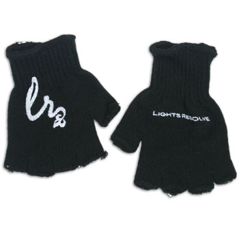Lights Resolve - Flourish Emblem and Logo Fingerless Gloves - Accessories